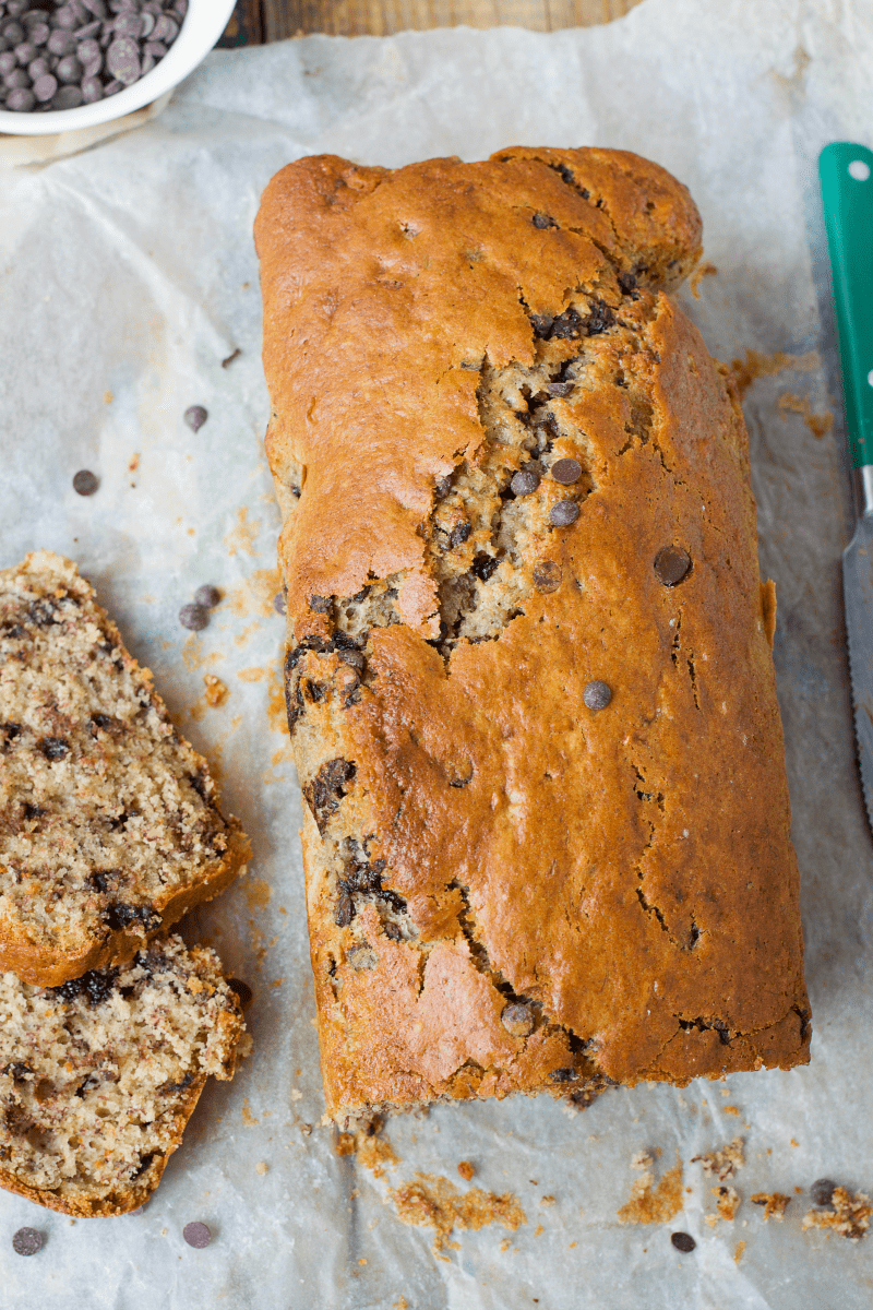 Low carb sugar almost free chocolate chip banana bread sugar free low carb banana bread recipes forumfinder Image collections