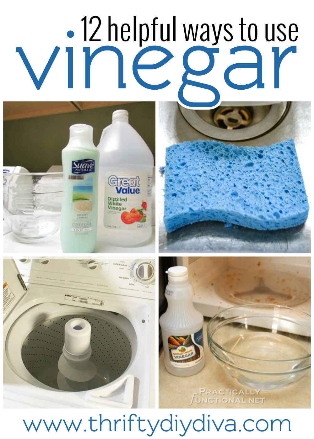 How To Clean Using Vinegar