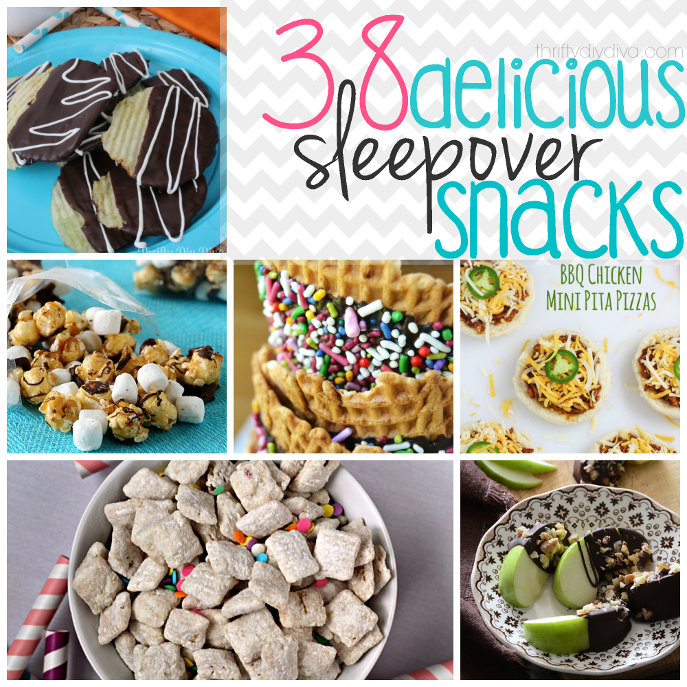 Delicious Sleepover Snack Recipes