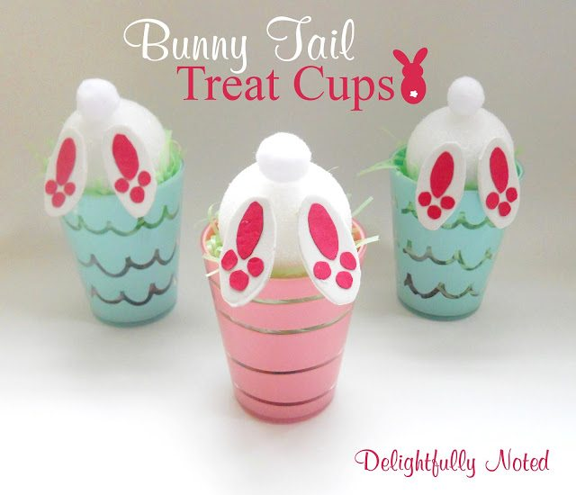Easter Bunny Tail Treat Cups