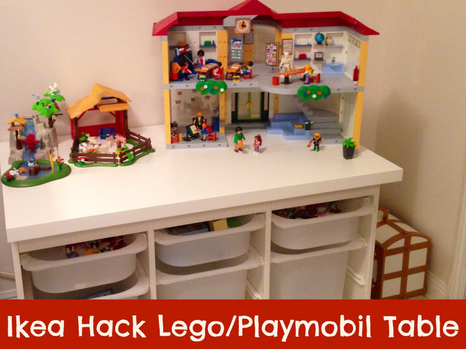 Ikea Hack Table Lego Playmobil