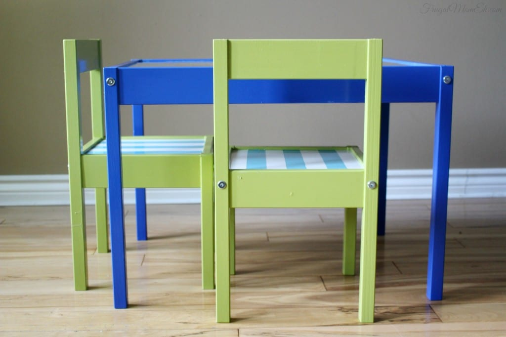 Ikea Kids Table and Chairs Hack