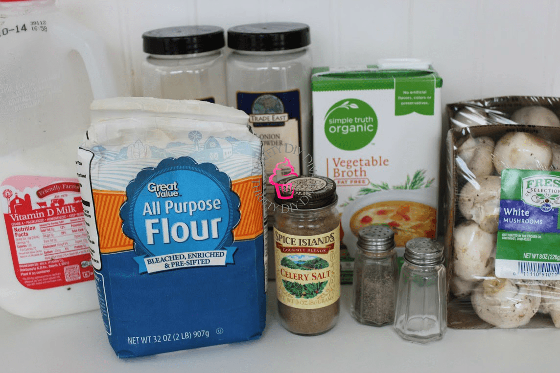 Cream of Mushroom Soup Ingredients