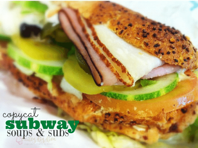 copycat subway recipes
