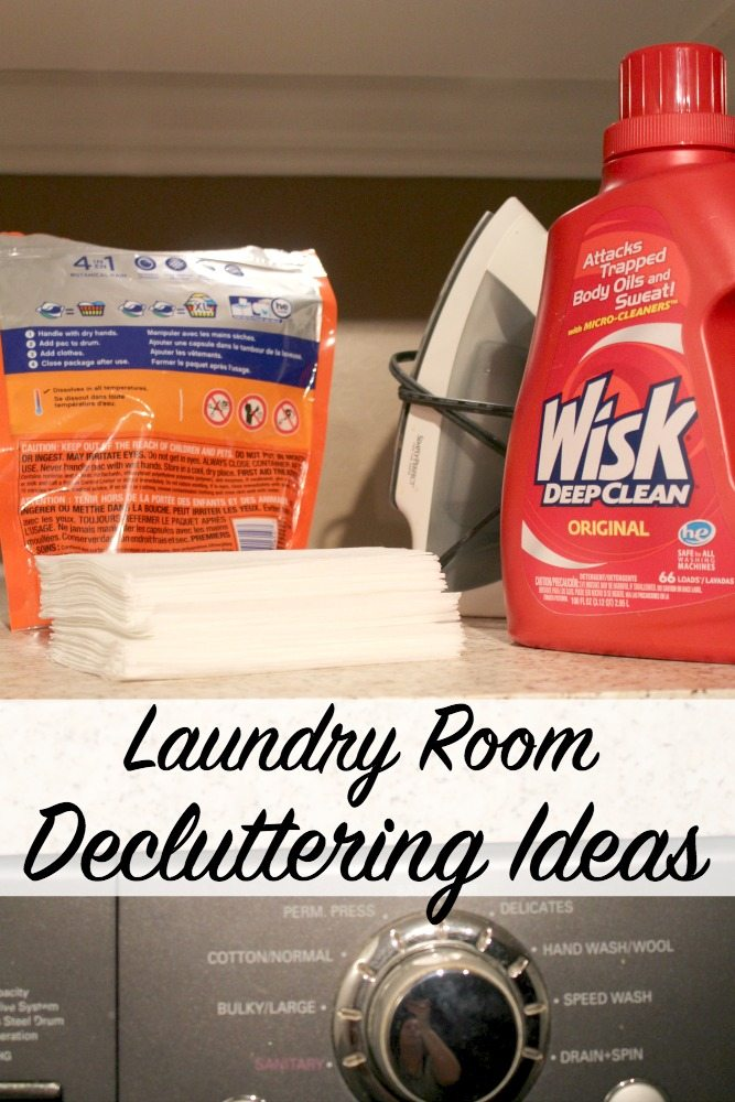 DIY Laundry Detergent Storage Idea